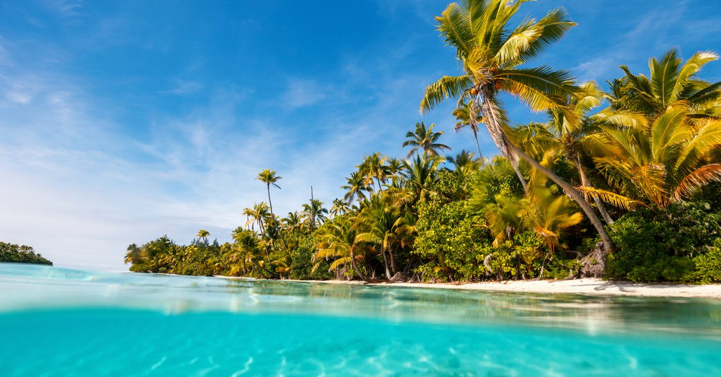 beach in south pacific