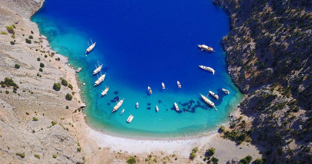 Agios Georgios aerial view