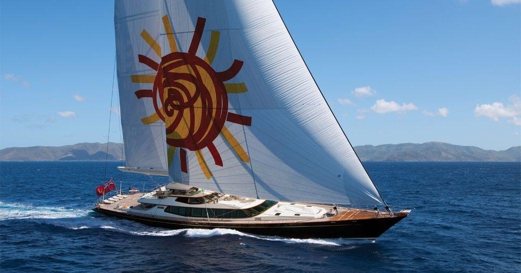 superyacht TIARA sails in Thailand on a luxury yacht charter
