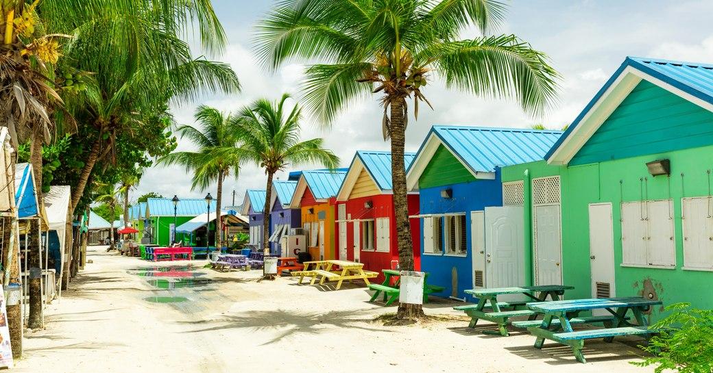 Barbados colorful streets