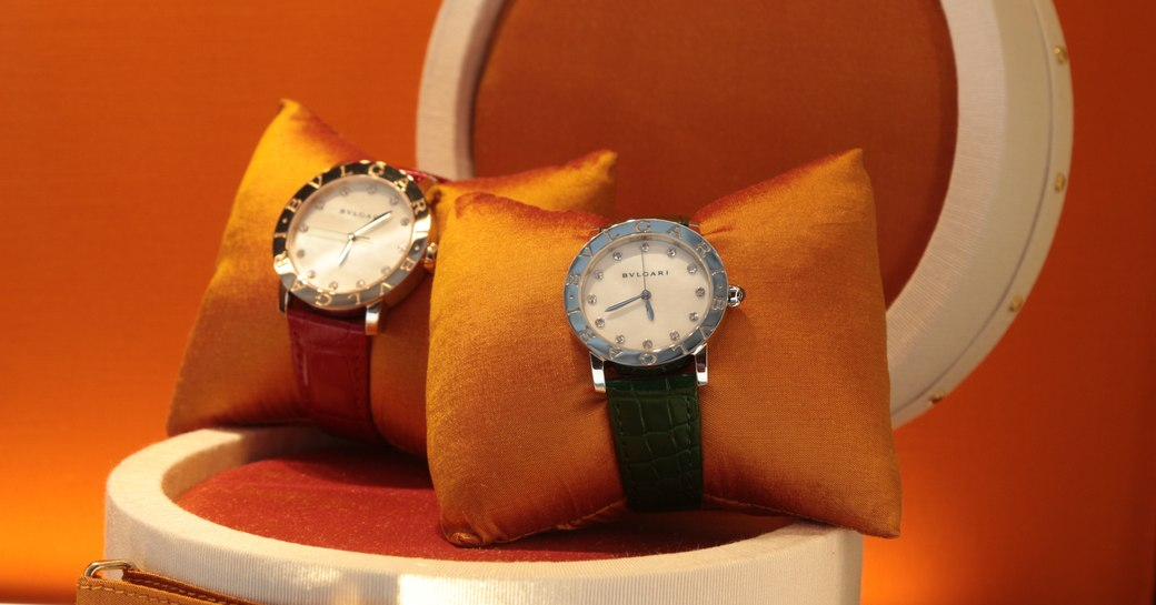 Watches in Rolex store in St Barts