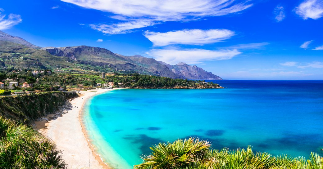 Scopello beach in Sicily, Italy
