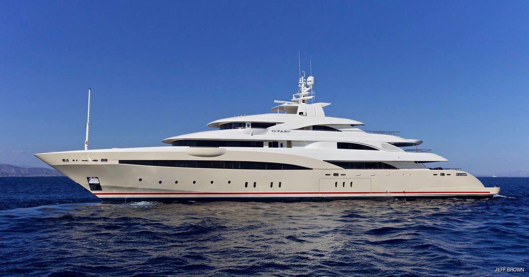 Natalina A yacht, formerly O'Pari 3