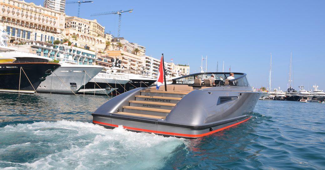 Tender at Monaco Yacht Show
