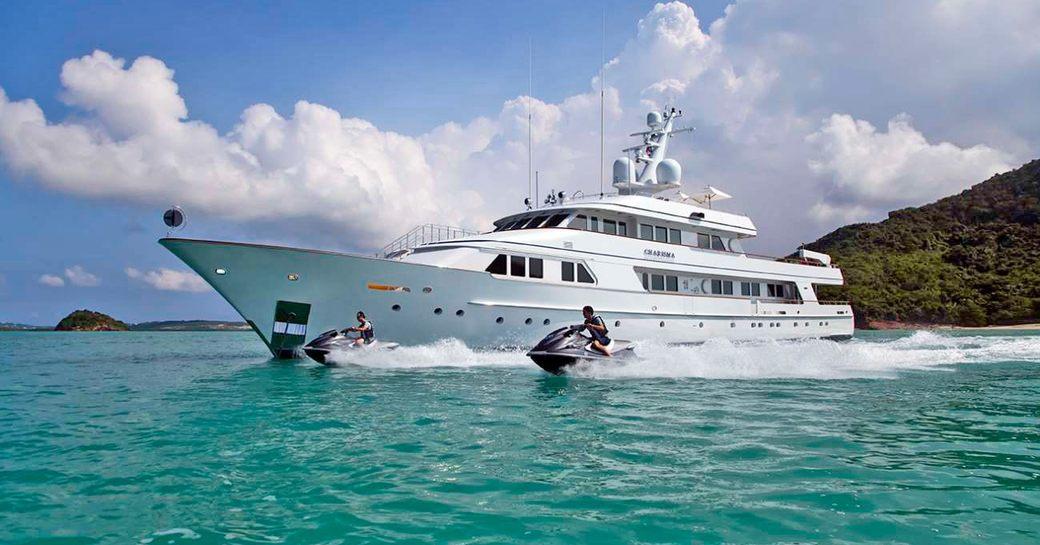 feadship motor yacht CHARISMA attending pop-up montenegro superyacht show