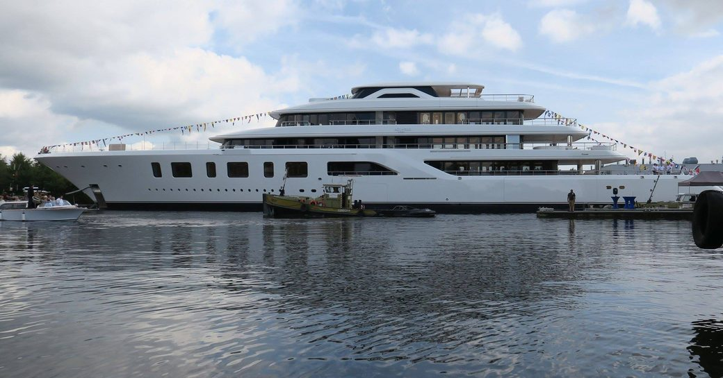 Brand New 92m Feadship Superyacht AQUARIUS Launched In Aalsmeer photo 4