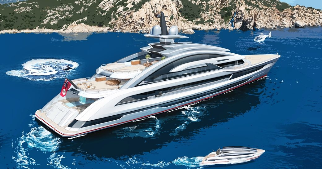 80m COSMOS will be 'world's largest and fastest aluminium yacht'  photo 20