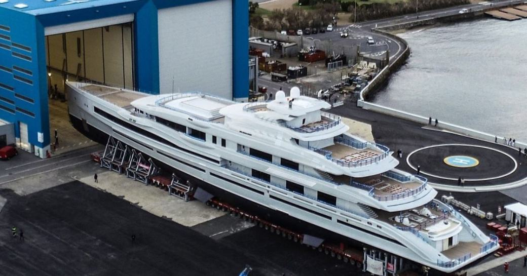 FB 277 from Benetti leading the shed