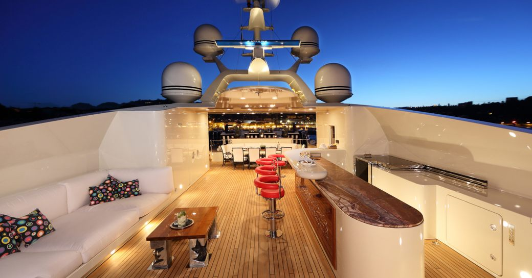 Charter yacht BASH stars in 'World's Most Luxurious Yachts' documentary photo 5