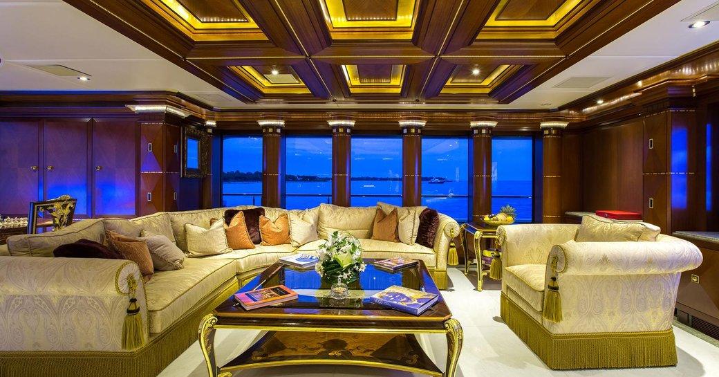 Superyacht My Seanna main salon