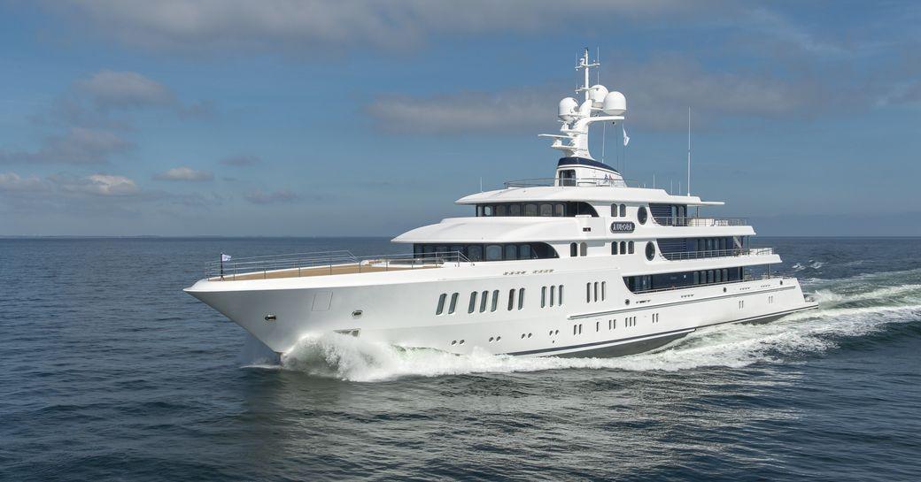 74m Lurssen Superyacht AURORA Delivered photo 2