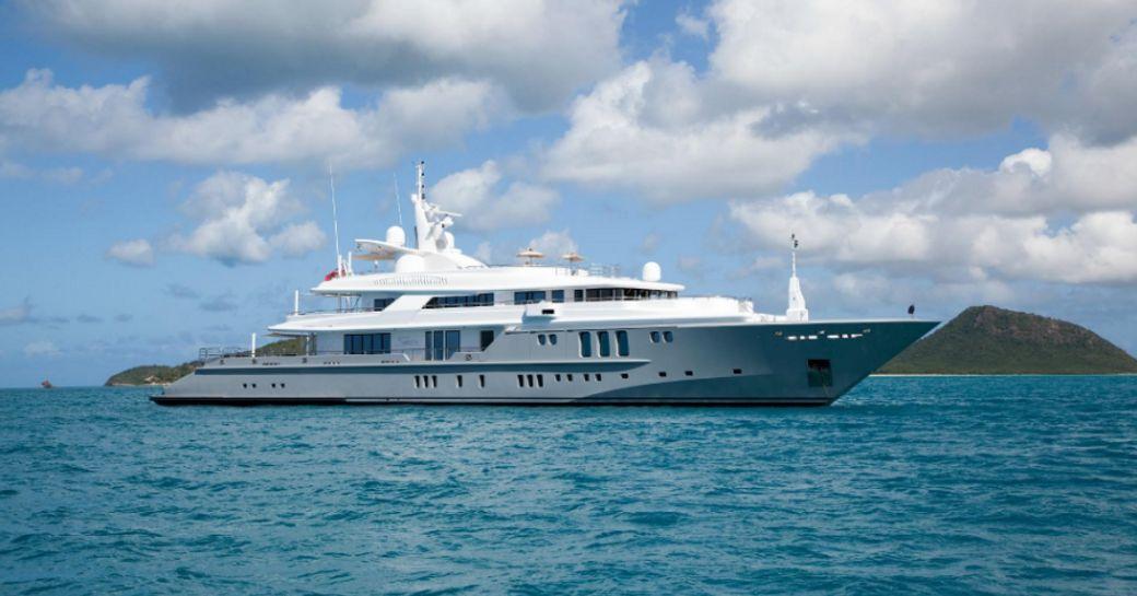 motor yacht SIREN cruising on a Mediterranean yacht charter