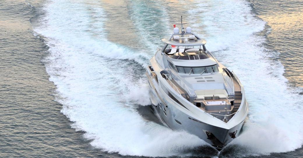 superyacht Meya Meya cruising on charter in Turkey