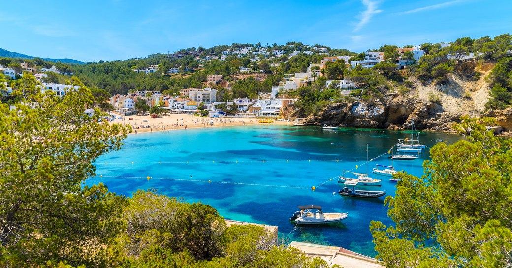Ibiza beach yacht charter