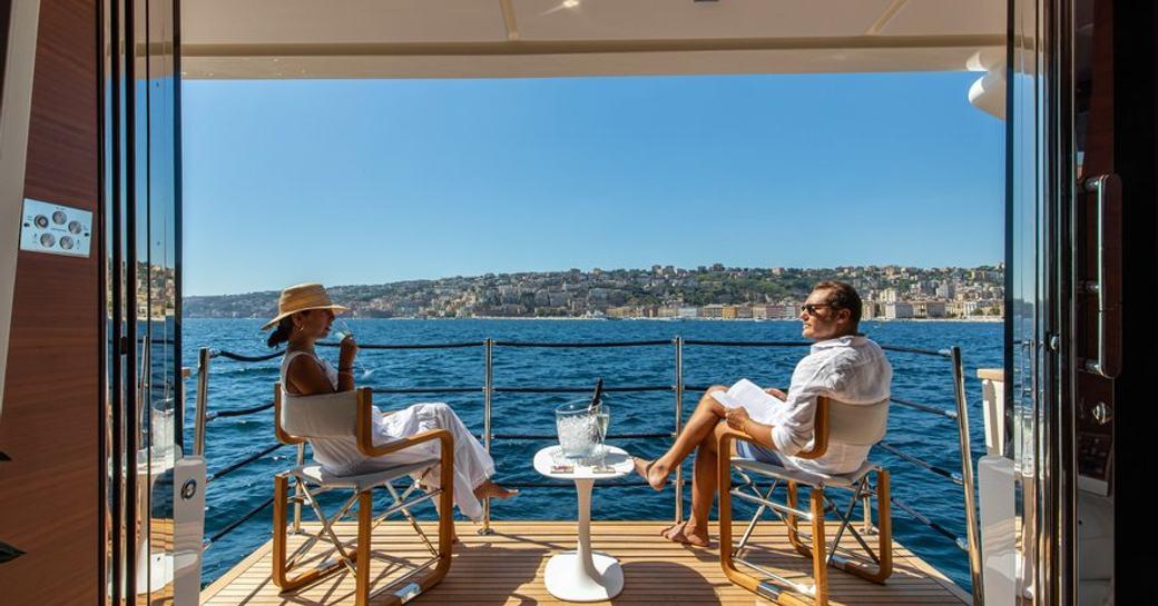 balcony on board custom line penelope