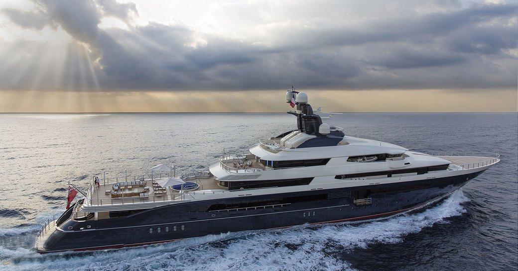 Kylie Jenners' birthday yacht TRANQUILITY