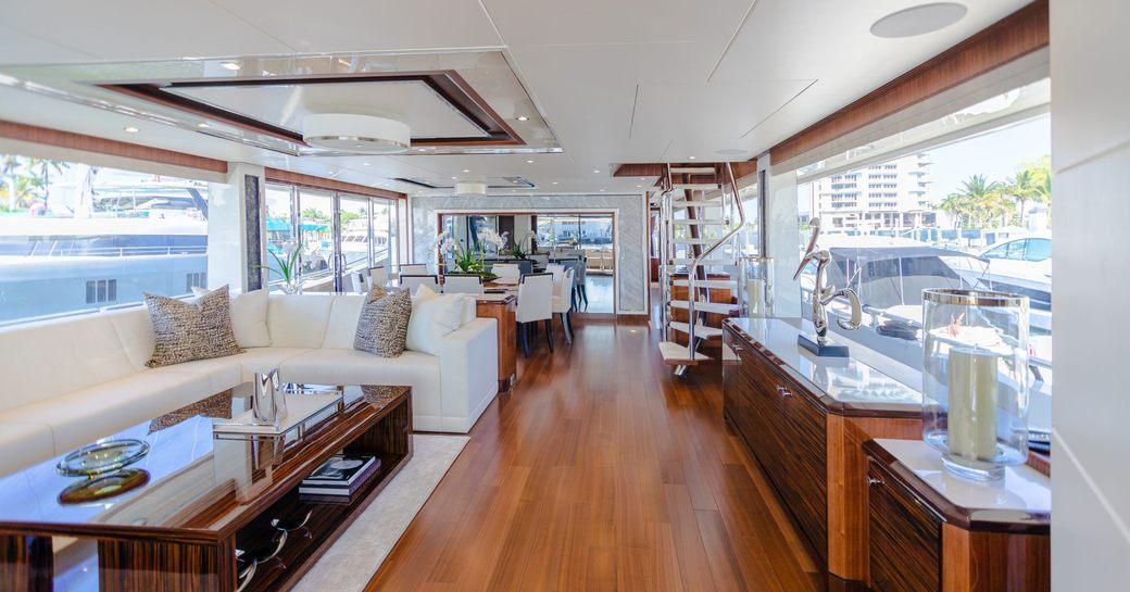 Main Salon onboard MY I C