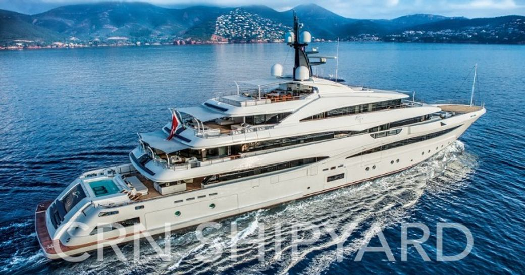 CRN Superyacht Cloud 9 To Attend The Monaco Yacht Show 2017 photo 5