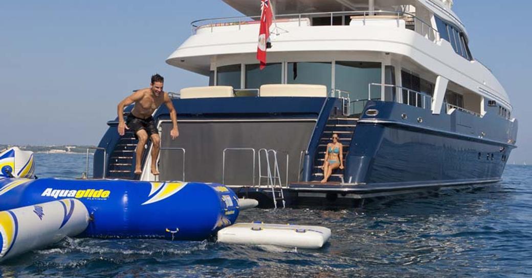 luxury yacht daloli yacht toy selection
