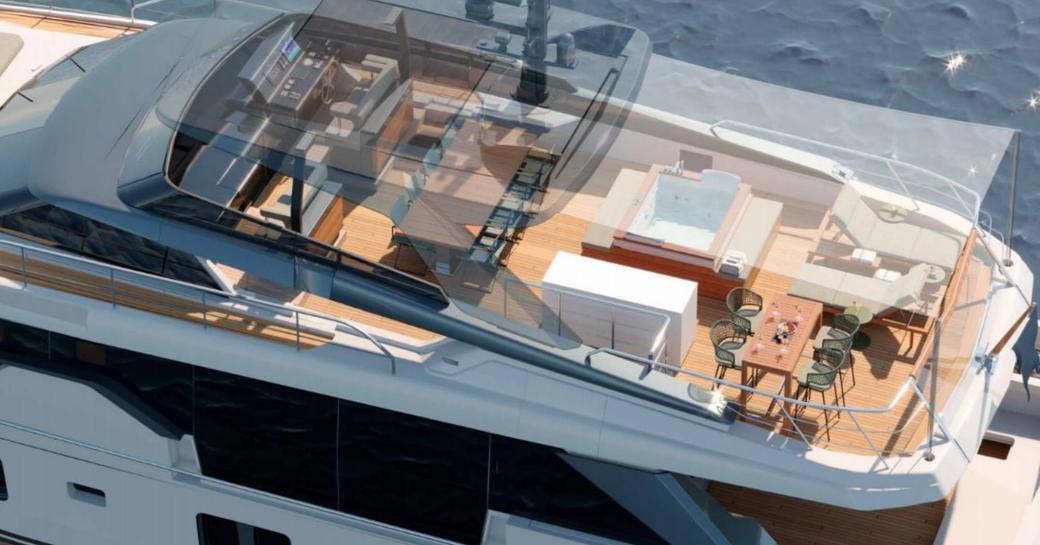 noor superyacht flybridge