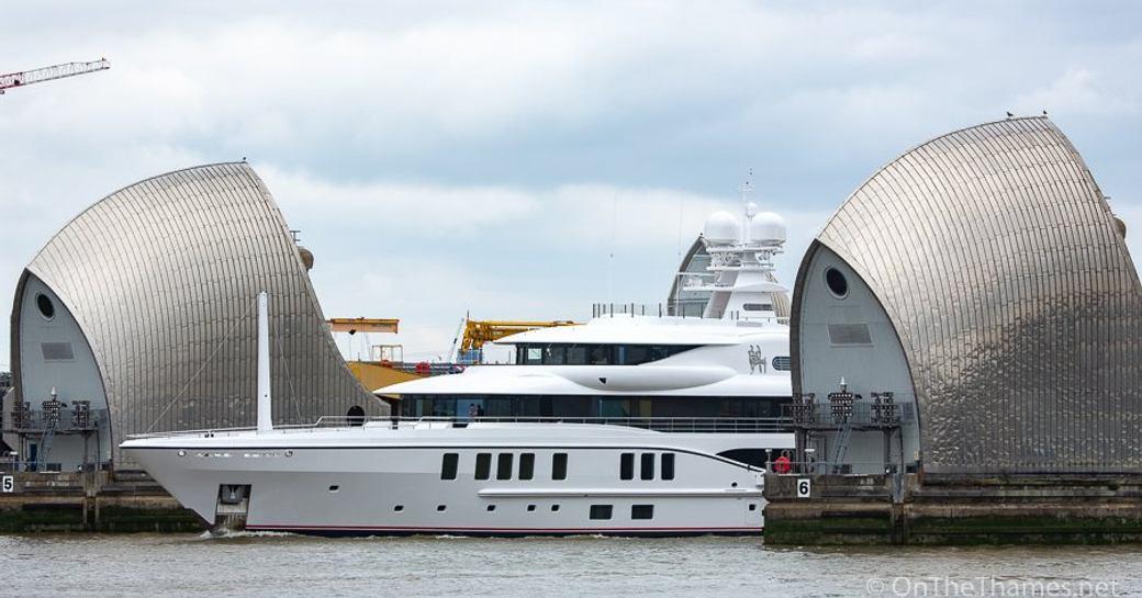 Amels superyacht 'Sixth Sense' arrives in London photo 4