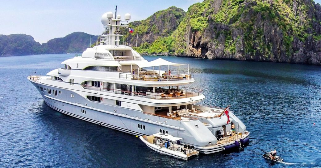 charter yacht TV prepares for her arrival at the Fort Lauderdale Boat Show 2016