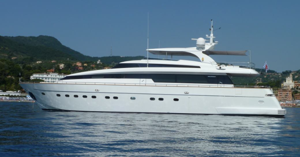30M superyacht SUD: Special 15% reduction for Mediterranean charters photo 1