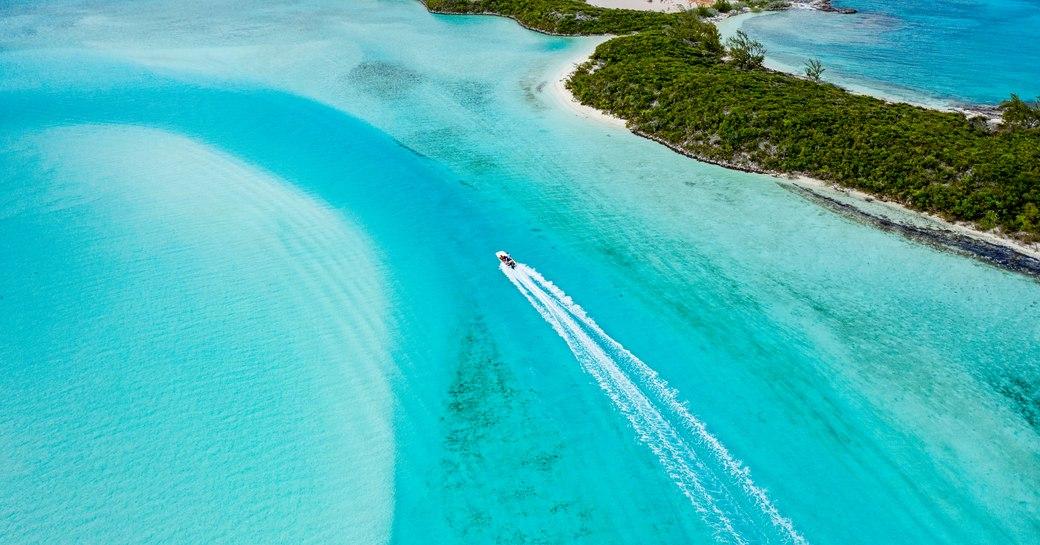 The Exuma Land & Sea Park headquarters Waderick Wells, Bahamas
