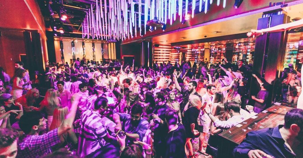 aura nightclub in Atlantis bahamas
