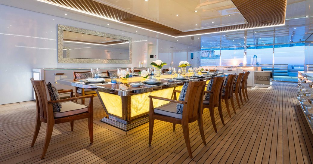 Inside Beyonce and Jay-Z's €1.7 mil p/ week charter yacht LANA photo 13
