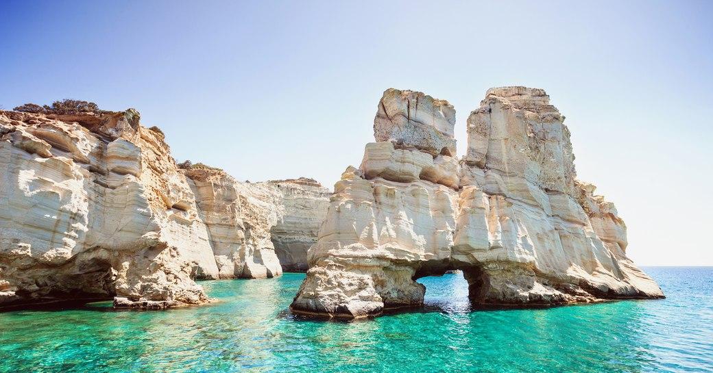 Kleftiko Bay, Greece