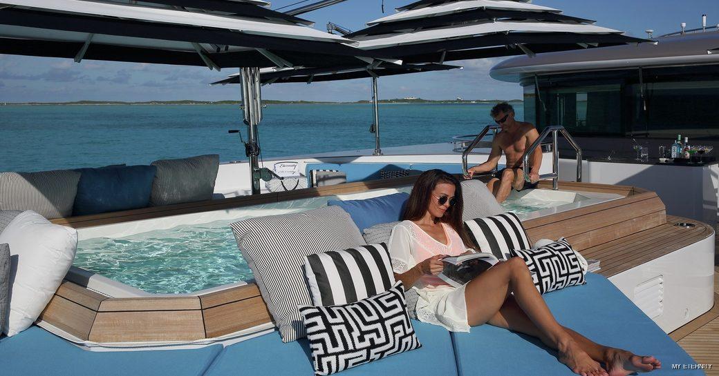 Pool onboard MY Eternity