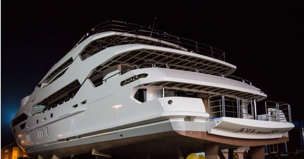First Glimpse of New Motor Yacht 'Princess AVK' Before She Hits Charter Market  photo 1