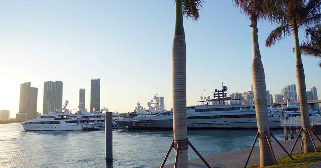 superyachts miami 2018