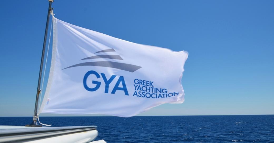 Greek Yachting Association Flag