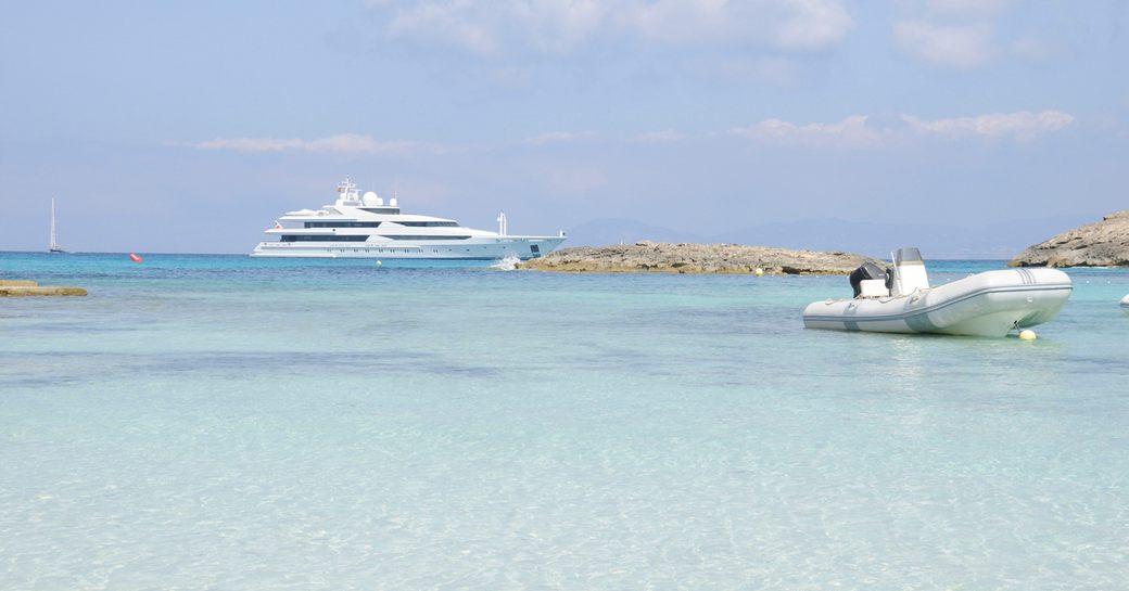 ibiza luxury yacht charter