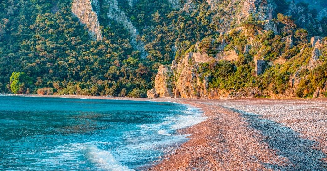 Turkey beach Olympos