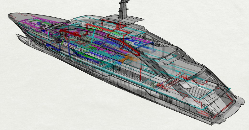 80m COSMOS will be 'world's largest and fastest aluminium yacht'  photo 4