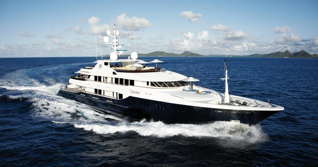motor yacht UNBRIDLED will appear at the Fort Lauderdale International Boat Show 2017