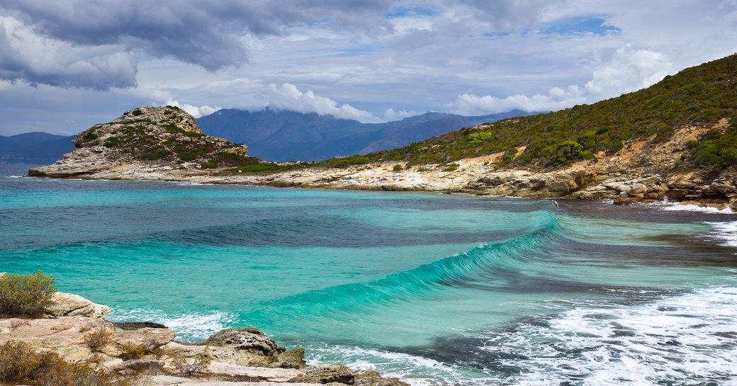 Saleccia beach in Corsica