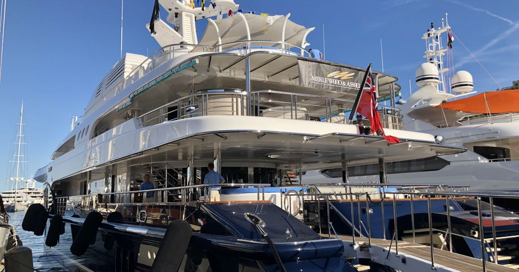 Live photos: Final preparations for the Monaco Yacht Show 2018 photo 7