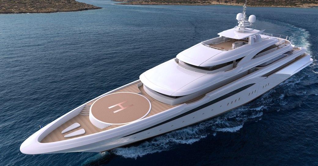 Superyacht O'PTASIA
