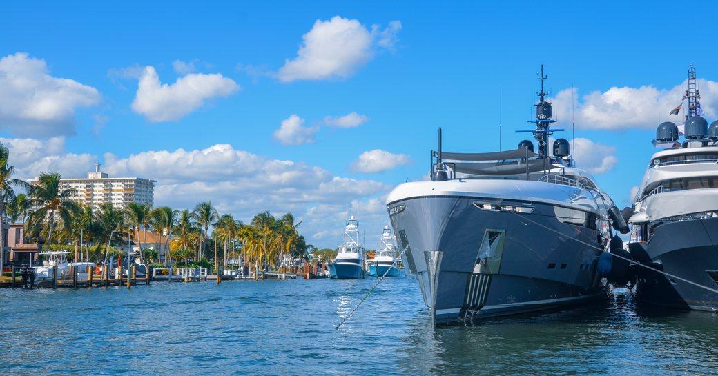 Superyacht at FLIBS 2019