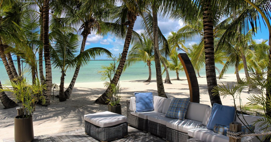 Pretty beach on Andros Island in the Bahamas