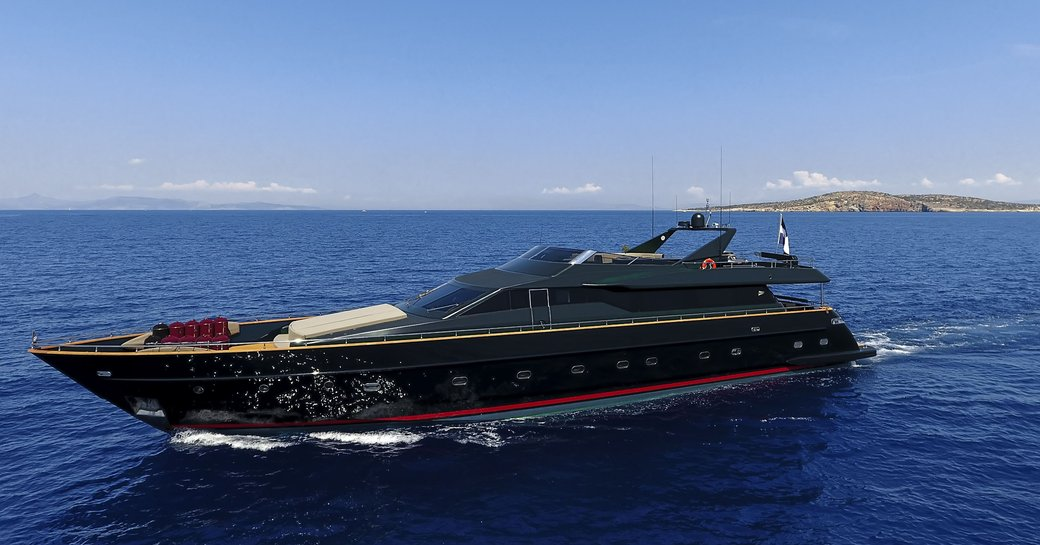 luxury yacht 'can't remember' underway