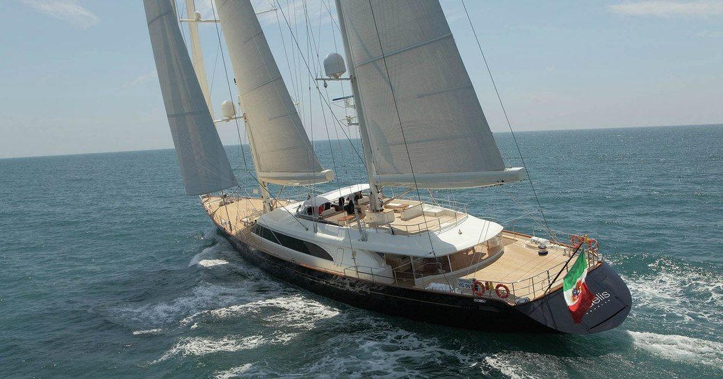 sailing yacht FIDELIS cruising on a yacht charter in the South Pacific
