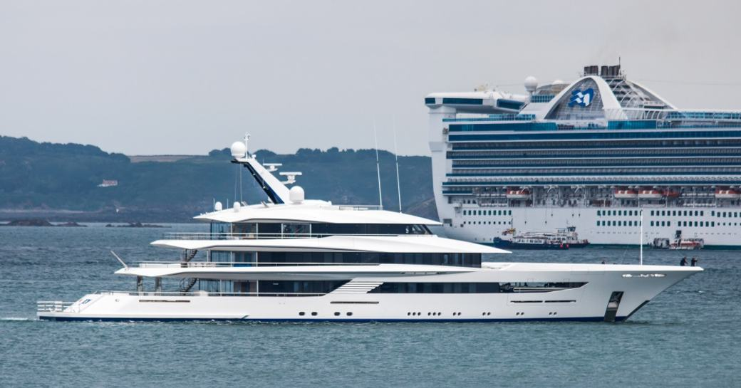 Superyacht JOY delivered from the shipyard
