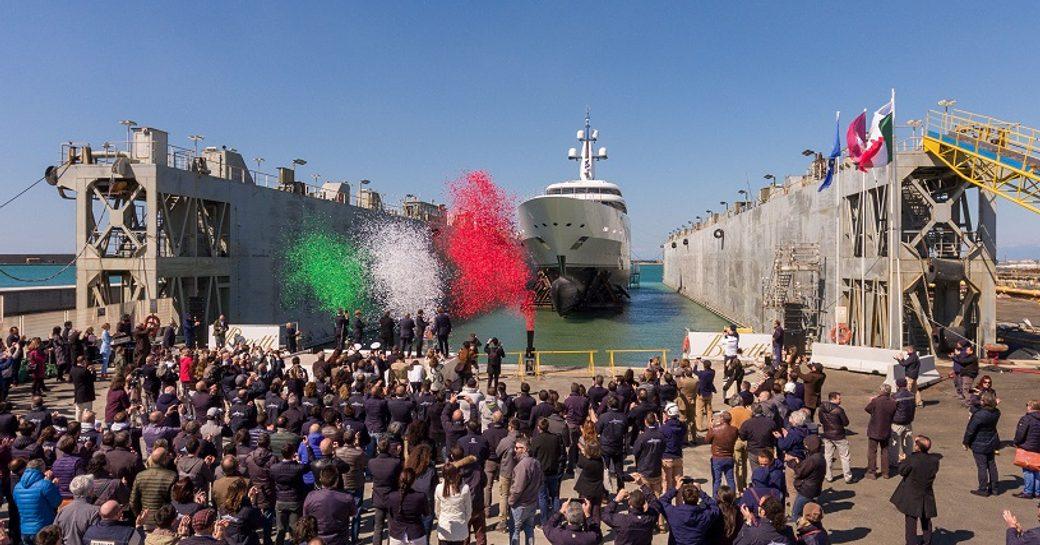 Benetti launches their longest superyacht yet photo 1