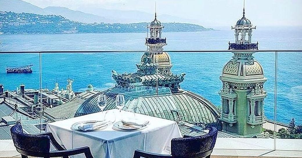 Le Grill restaurant Monaco
