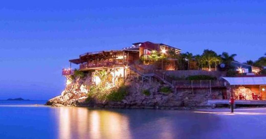 On the Rocks restaurant in St Barts